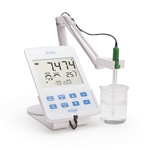 Titration units and Edge pH meters  made by Hanna Instruments -15% off the list prices!